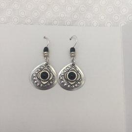 Persian Eyes Jet Earrings