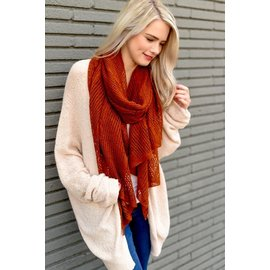 SOFT AIRY SCARF - TWO COLORS
