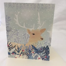 HOLIDAY CARD CHRISTMAS DEER