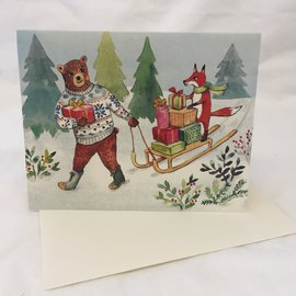 HOLIDAY CARD HOLIDAY SLEIGH