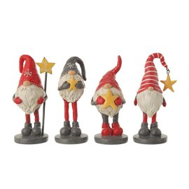SHORT GNOME  STAR  FIGURINE