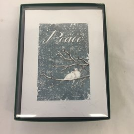 HOLIDAY Card Peace Birds Boxed Set/12