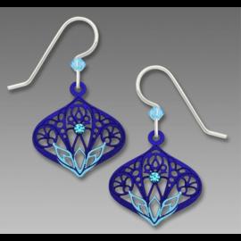 Adajio Earrings Aqua Blue Moorish