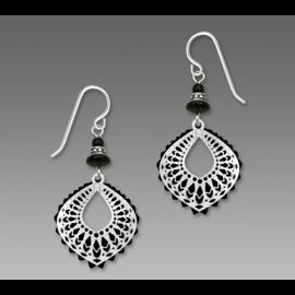 Adajio Earrings Black Moroccan