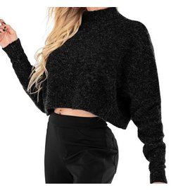 COZY CROPPED TURTLENECK - COLOR CHOICES