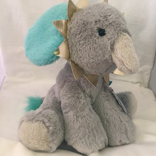 Brights Blue Elephant Plush