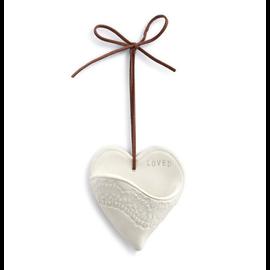 LOVED CERAMIC HEART POCKET