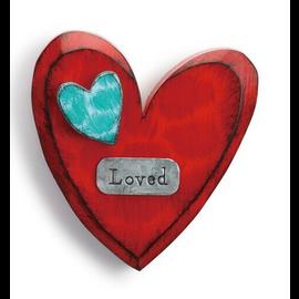 LOVED WALL HEART
