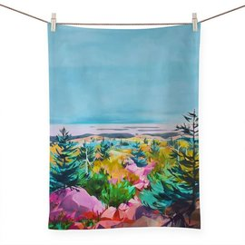 PRESS PAUSE LANDSCAPE TEA TOWEL