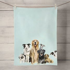 DOG BUNCH TEA TOWEL