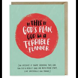 TERRIBLE PLAN BLANK CARD
