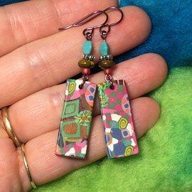 Kate's Polymer Earrings - #24