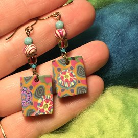 KATE'S POLYMER CLAY EARRINGS - #2
