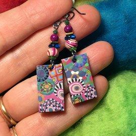Kate's Polymer Earrings - #7