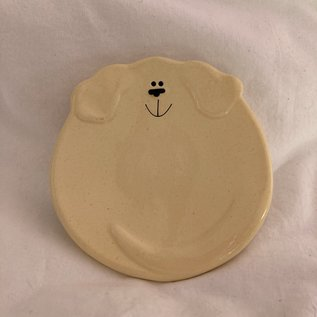 DOGGIE TRINKET DISH YELLOW