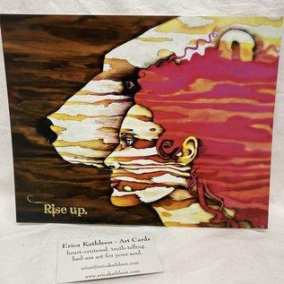 ERICA KATHLEEN ART PRINT Rise Up