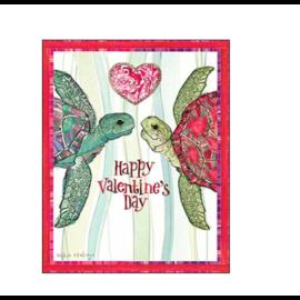 Turtle Love Valentine Card