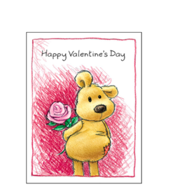 Hug the Stuffing Out of You Valentine Card