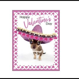 MUCHO LOVE Valentine Card