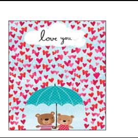 RAIN OR SHINE Valentine Card