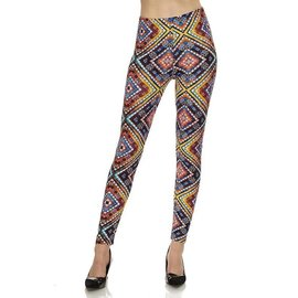 Leggings- Stain Glass Squares