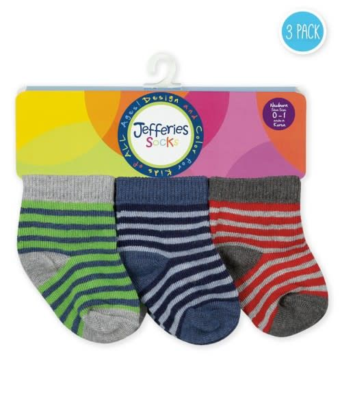 9a910a4de1 Baby Stripe Socks 3 pack