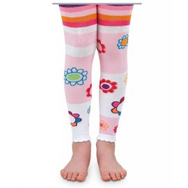 Fun Flowers Baby Footless Tights