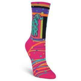 Laurel Burch Spotty Dog Socks