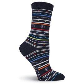 Wild Stripes Wool Socks