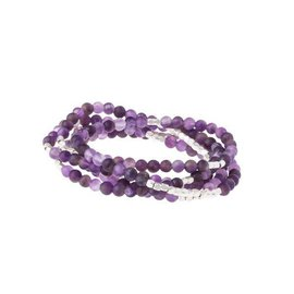 SCOUT CURATED WEARS STONE WRAP  PROTECTION amethyst