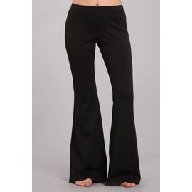 Solid Bell Bottoms - Black