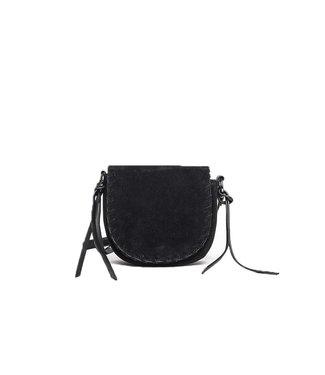 Co-lab Whipstitch Saddle Bag Black