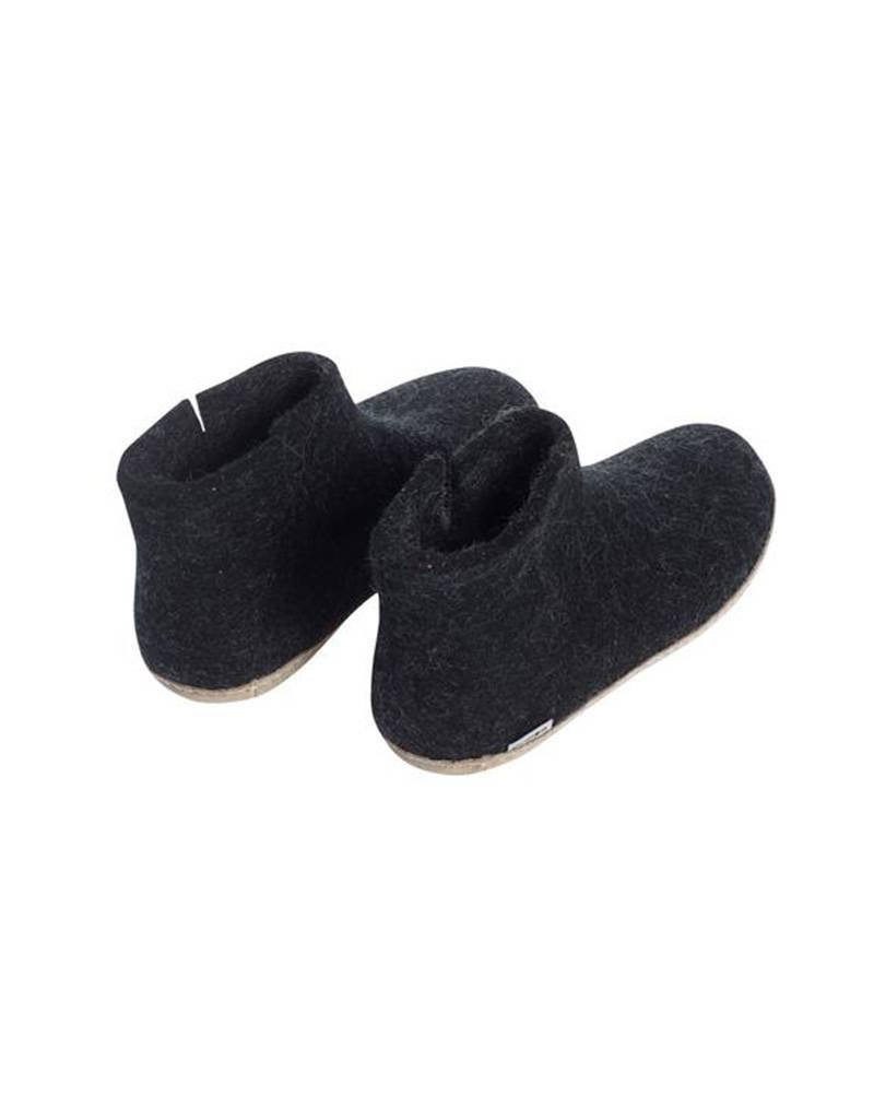 Glerups Glerups Boot Leather Sole Black PUU13108605