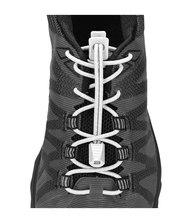 Nathan Laces Bungee Blanc