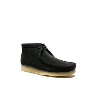 Clarks Clarks Wallabee boot suede black