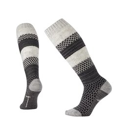 Smartwool Smartwool Popcorn Cable Knee High White