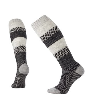 Smartwool Smartwool Popcorn Cable Knee High Blanc