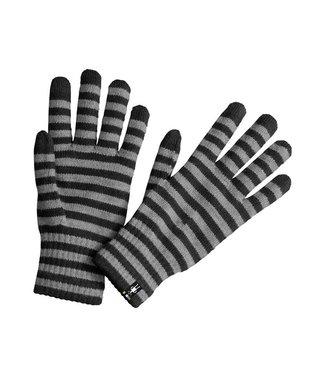 Smartwool Smartwool Striped Liner Gloves Noir