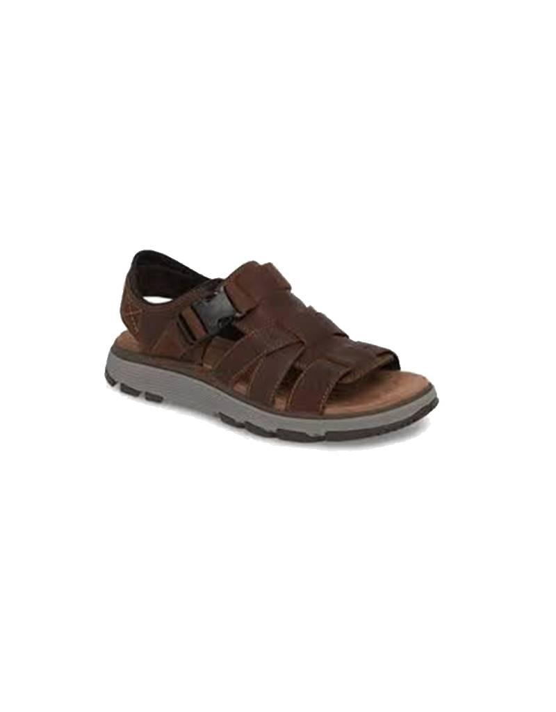 ea22e229f9e5 Clarks UnTrek Cove Dark Tan Men s Sandals