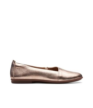 Clarks Clarks UnCoral Step Metallic Rose Gold