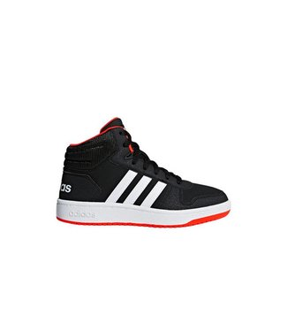 Adidas Adidas Hopps Mid Black & Red
