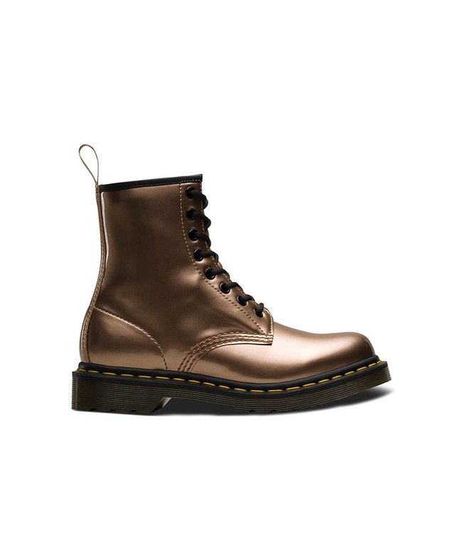 DR MARTENS Dr.Martens 1460 Vegan Chrome Métallique Or Rose