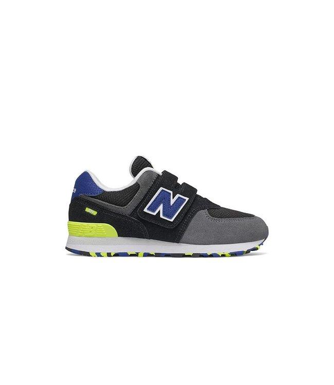 New Balance New Balance 574 Marbled Street  Noir & Bleu