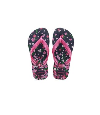 Havaianas Havaianas Flores Navy & Pink