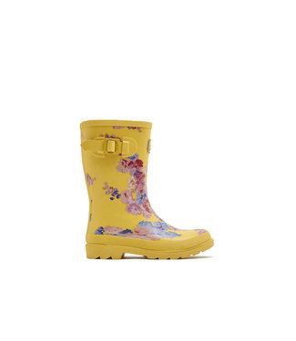 JOULES Joules Girl's Wellies Yellow Floral