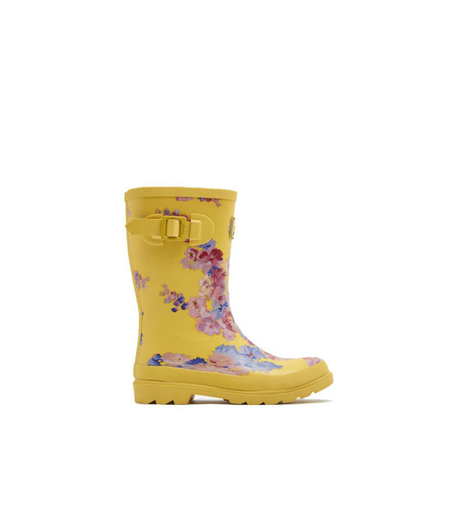 JOULES Joules Filles Wellies Jaune Floral