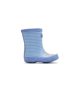 JOULES Joules Printer Welly Blue Otter