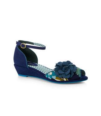 Ruby Shoo Ruby Shoo Phyllis Bleu Floral