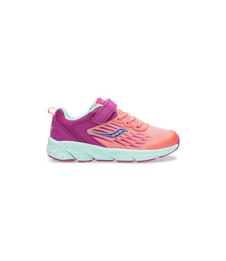 Saucony Saucony Wind Purple & Coral