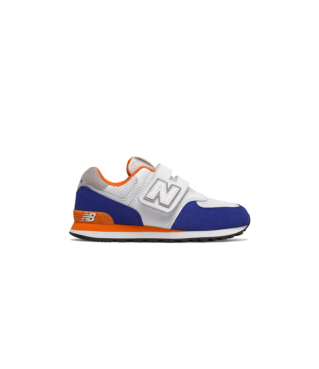 new style befa8 25707 New Balance 574 Blue & Orange | Tony Pappas
